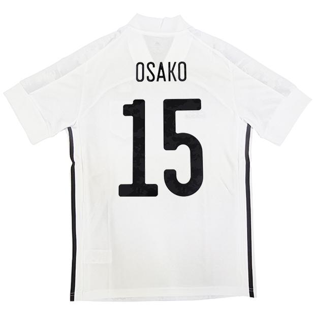 サッカー日本代表 2020 アウェイ レプリカ ユニフォーム 半袖 ed7352  gem13-15-osako