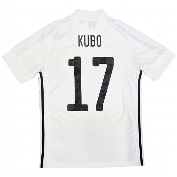 サッカー日本代表 2020 アウェイ レプリカ ユニフォーム 半袖 ed7352  gem13-17-kubo 17.久保建英