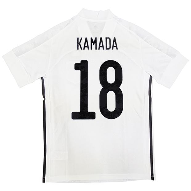 サッカー日本代表 2020 アウェイ レプリカ ユニフォーム 半袖 ed7352  gem13-18-kamada