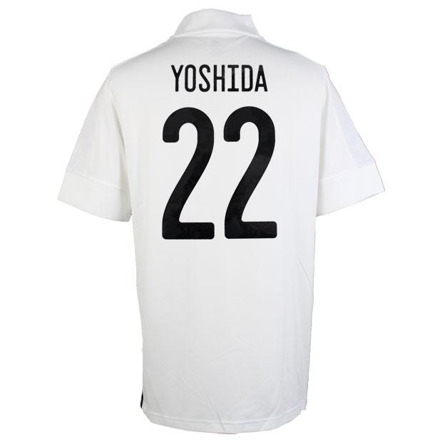 サッカー日本代表 2020 アウェイ レプリカ ユニフォーム 半袖 ed7352  gem13-22-yoshida
