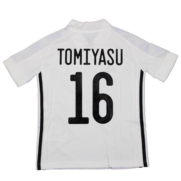 ジュニア KIDS サッカー日本代表 2020 アウェイ レプリカ ユニフォーム 半袖 ed7358  gem19-16-tomiyasu