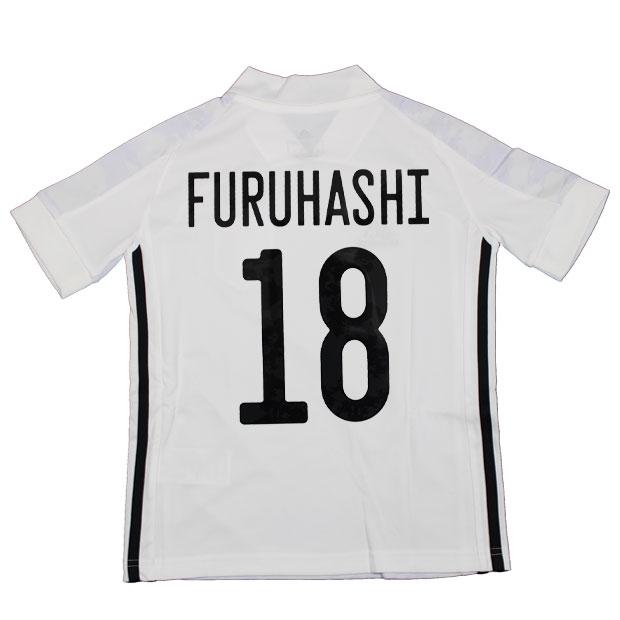ジュニア KIDS サッカー日本代表 2020 アウェイ レプリカ ユニフォーム 半袖 ed7358  gem19-18-furuhashi