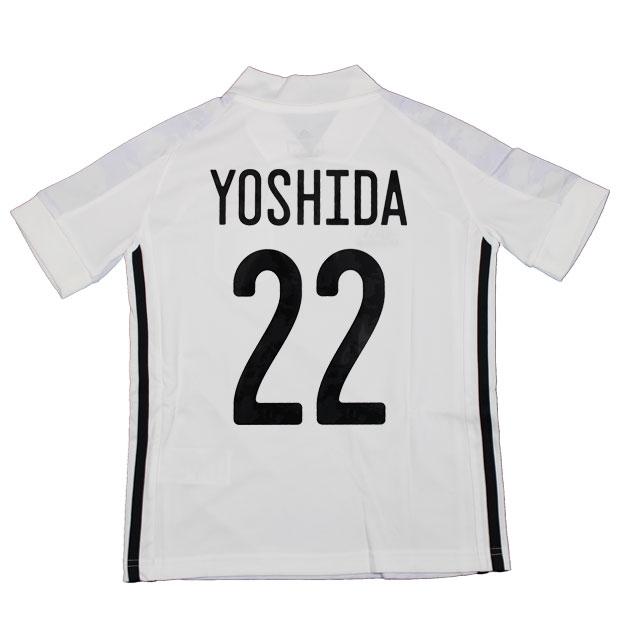 ジュニア KIDS サッカー日本代表 2020 アウェイ レプリカ ユニフォーム 半袖 ed7358  gem19-22-yoshida