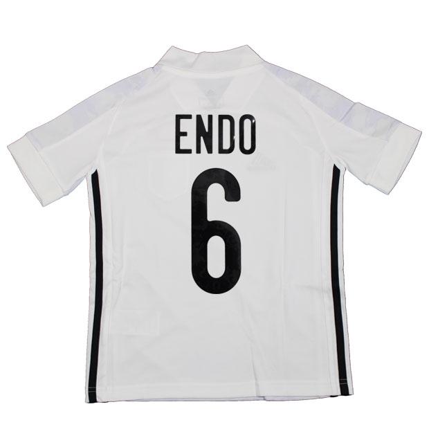 ジュニア KIDS サッカー日本代表 2020 アウェイ レプリカ ユニフォーム 半袖 ed7358  gem19-6-endo