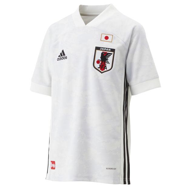 ジュニア KIDS サッカー日本代表 2020 アウェイ レプリカ ユニフォーム 半袖  gem19-ed7358