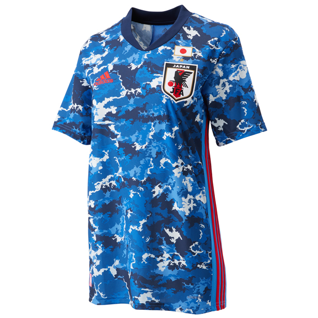 サッカー日本代表 2020 なでしこ ホーム レプリカ ユニフォーム 半袖  gem25-ed7364