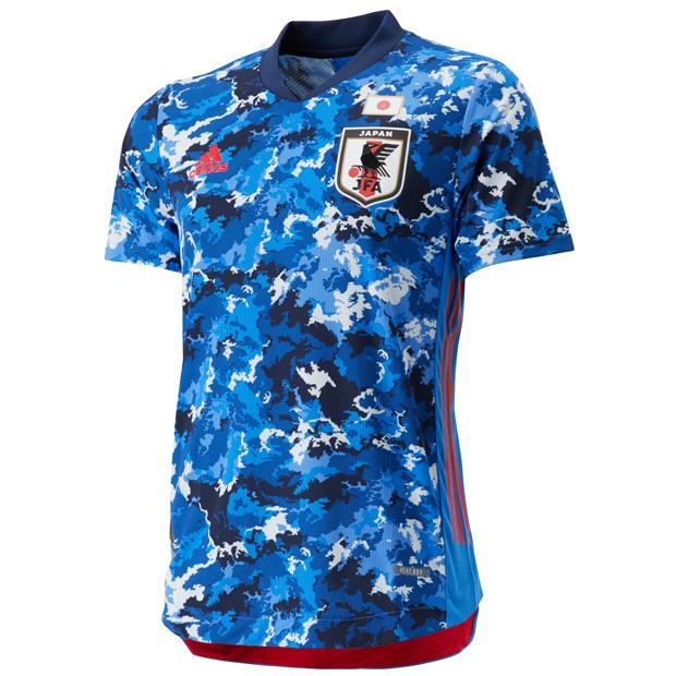 サッカー日本代表 2020 ホーム オーセンティック ユニフォーム 半袖  gem32-ed7371