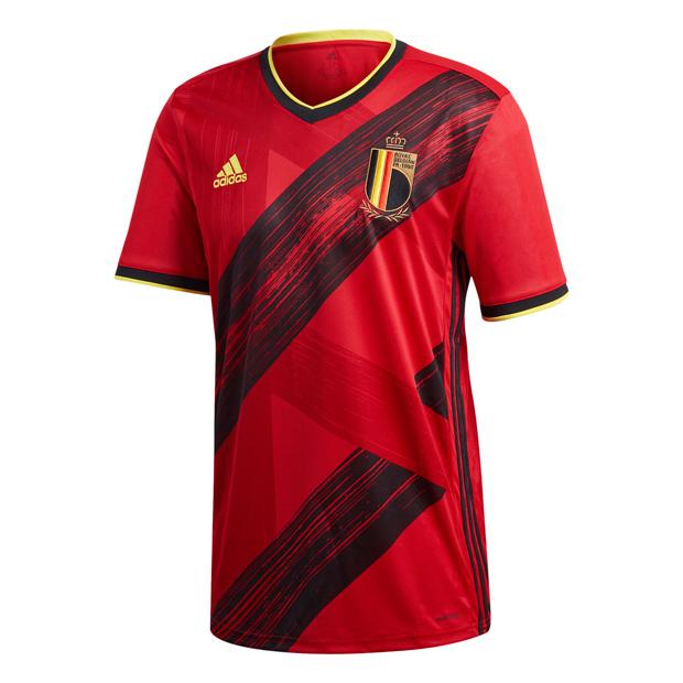 ベルギー代表 2020 ホーム 半袖レプリカユニフォーム  ghw83-ej8546