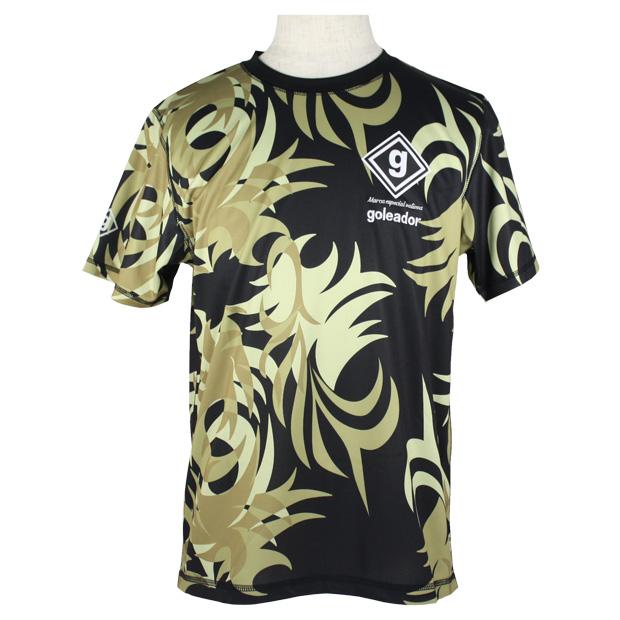 トライバル迷彩プラTシャツ  gj-056