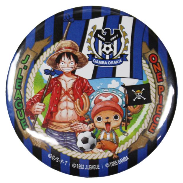 ガンバ大阪 ONE PIECEコラボ 缶バッジ  go10339
