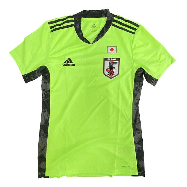サッカー日本代表 2020 GK ホーム レプリカ ユニフォーム 半袖  hja64-ew5929