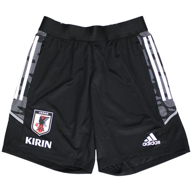 サッカー日本代表 トレーニングショーツ  hkz08-ex5978 ブラック
