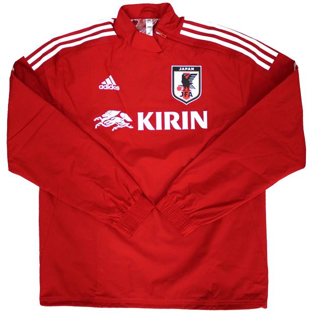サッカー日本代表 ハイブリッドトップ  hkz12-ex5982 レッド