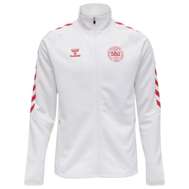 デンマーク代表 ジップジャケット  hm208010-9001 ホワイト