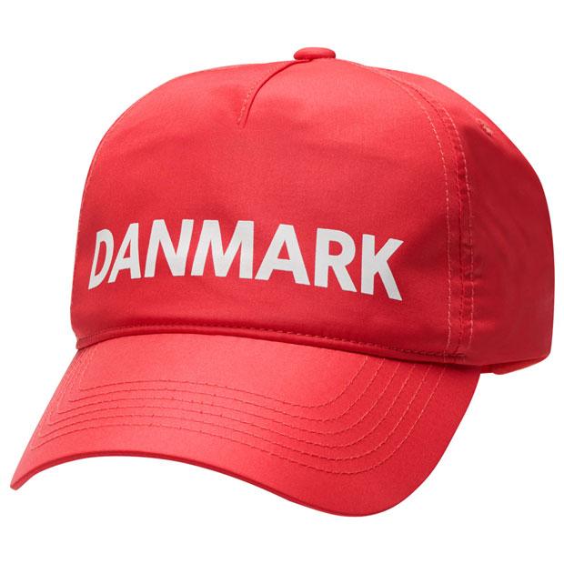 デンマーク代表 キャップ  hm208033-3365 タンゴレッド