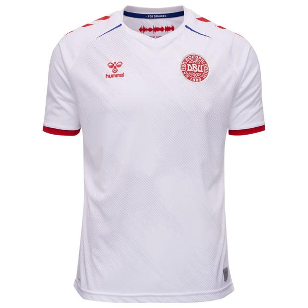 デンマーク代表 20-21 アウェイ 半袖レプリカユニフォーム  hm208346-9001