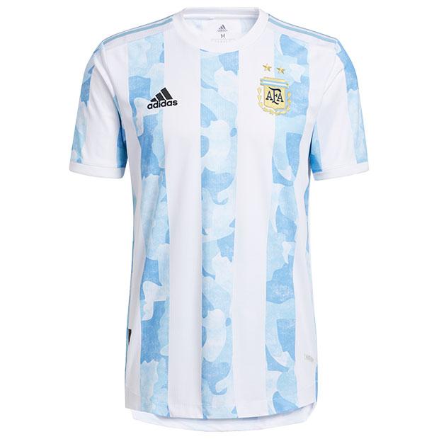 アルゼンチン代表 2021 ホーム 半袖オーセンティックユニフォーム  iua28-fs6568