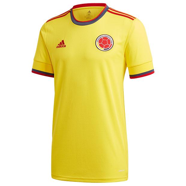 コロンビア代表 2021 ホーム 半袖レプリカユニフォーム  iwr78-ft1475
