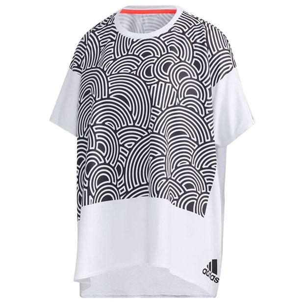 レディース TOKYO PACK 半袖Tシャツ  iwv57-gd4987 ブラック
