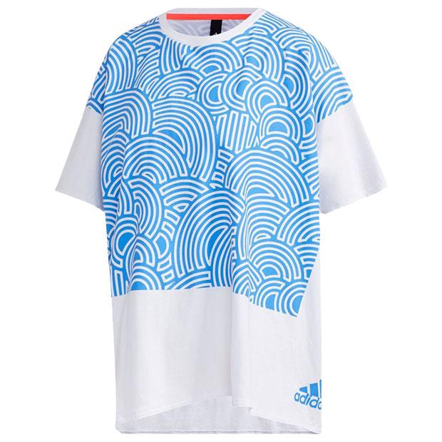 レディース TOKYO PACK 半袖Tシャツ  iwv57-gd4988 トゥルーブルー