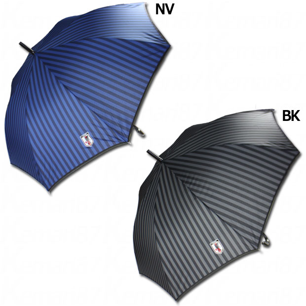 日本代表 長傘 ストライプ 60cm  jfa-umbrella-60