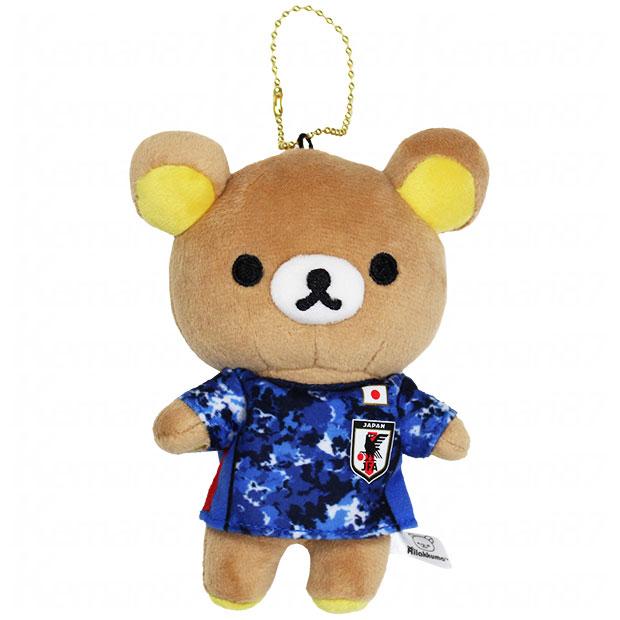 日本代表 リラックマ マスコットキーチェーン  jfaos005