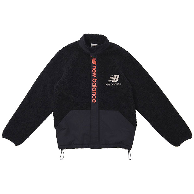ジュニア ボアジャケット  jjjp0322-bk ブラック