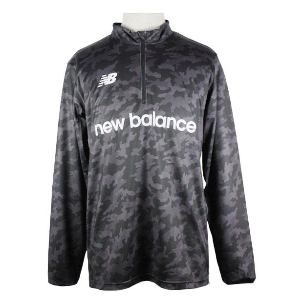 ハーフジップウォームアップ長袖Tシャツ  jmtf0409-bk ブラック