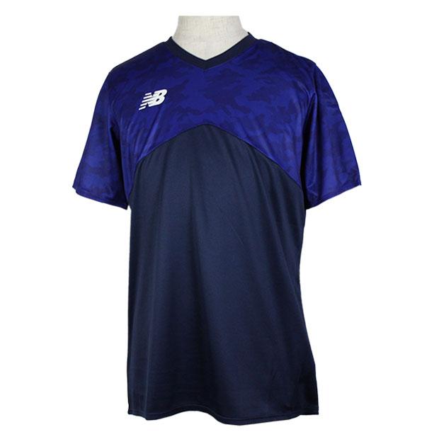 半袖プラクティスシャツ  jmtf0413-nv ネイビー