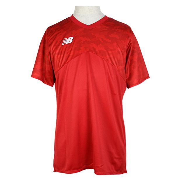 半袖プラクティスシャツ  jmtf0413-red レッド
