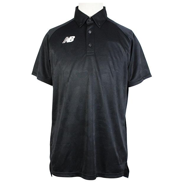 ジャガードポロシャツ  jmtf0439-bk ブラック