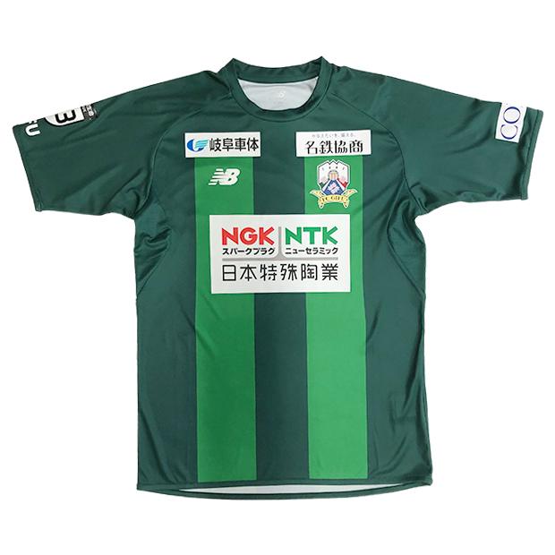 FC岐阜 2020 ホーム 半袖レプリカユニフォーム  jmtf0449-dgn