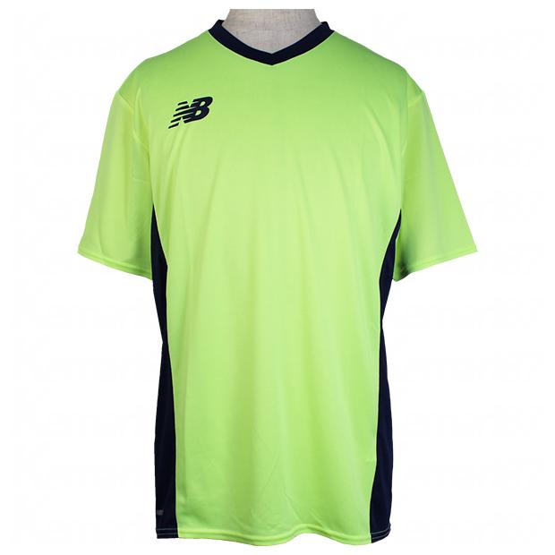 半袖プラクティスシャツ  jmtf1013-bio ブリーチドライムグロー