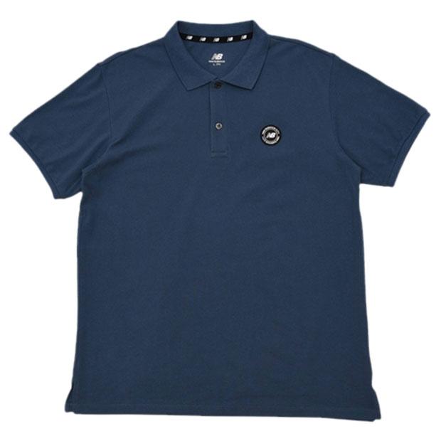 574S ワッペンポロシャツ  jmtp0208-snb ストーンブルー