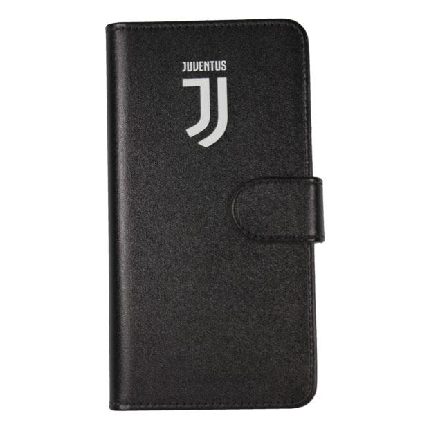 ユベントス 手帳型スマホカバー iPhoneX/XS用  juv33404 ブラック