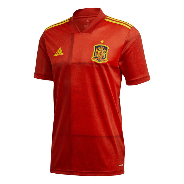 スペイン代表 2020 ホーム 半袖レプリカユニフォーム  kcm79-fr8361