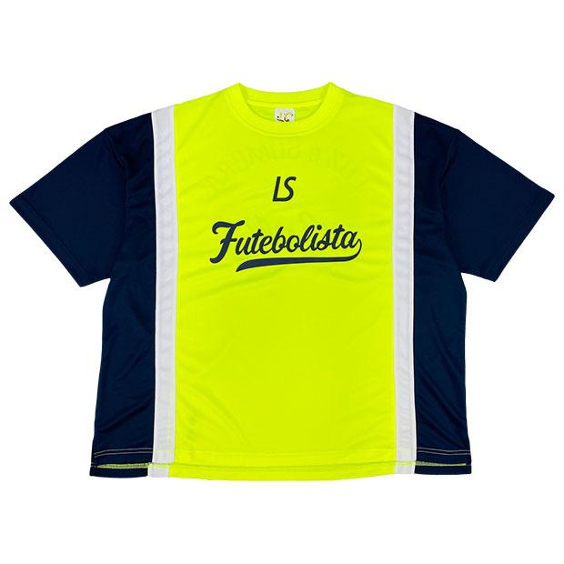 FD ビッグシルエット半袖プラクティスシャツ  l1211001-neonyl ネオンイエロー