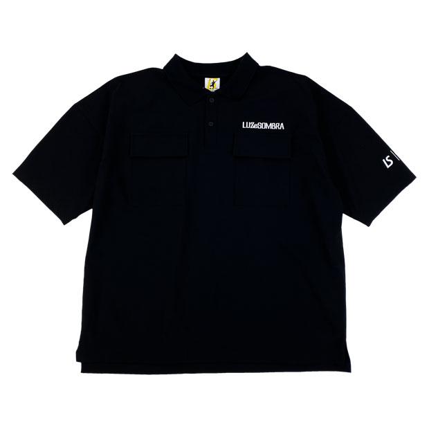 TWN ビッグシルエット ユーティリティポロシャツ  l1211200-blk ブラック