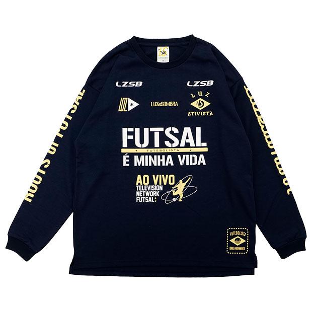 FD FUTEBOLISTA コットンライク長袖Tシャツ  l1212002-nvy ネイビー