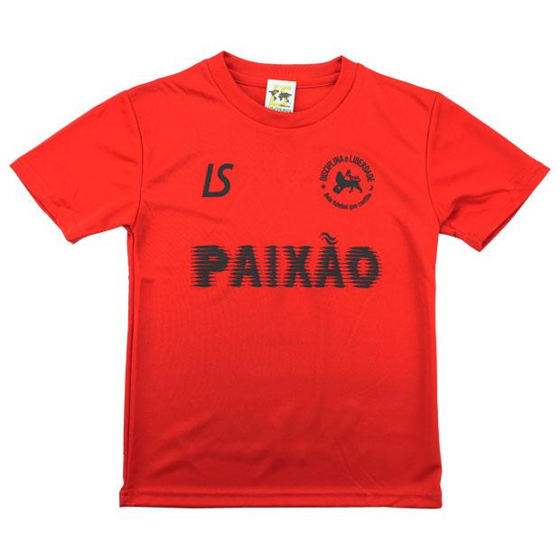 ジュニア PX スタンダード 半袖プラクティスシャツ  l2211001-red レッド