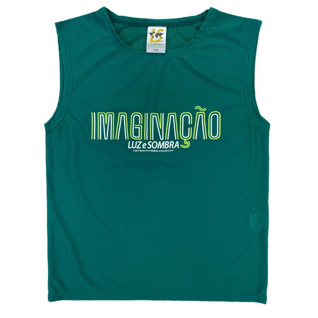 ジュニア IMN メッシュノースリーブシャツ  l2211005-dgrn ディープグリーン