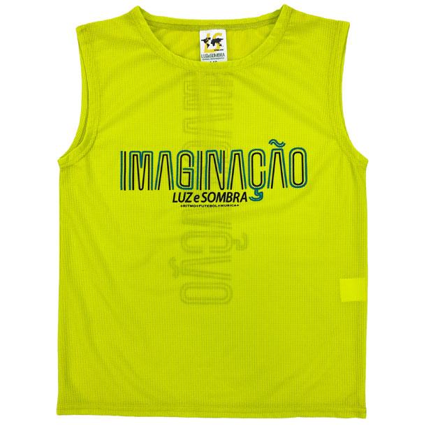 ジュニア IMN メッシュノースリーブシャツ  l2211005-lyel ライトイエロー