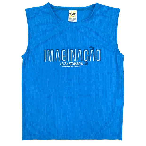 ジュニア IMN メッシュノースリーブシャツ  l2211005-tblu ターコイズブルー