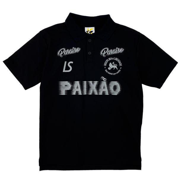 ジュニア PX 半袖ポロシャツ  l2211200-blk ブラック