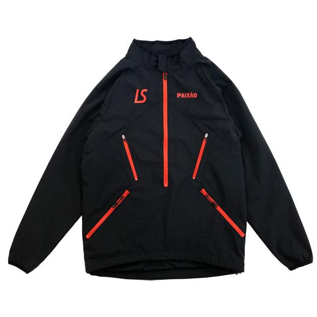 ジュニア PX ハーフジップジャケット  l2212100-blk ブラック