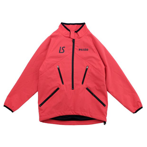 ジュニア PX ハーフジップジャケット  l2212100-red レッド