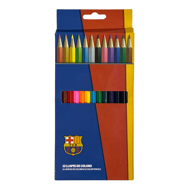 FCバルセロナ 色鉛筆セット  lp10bc