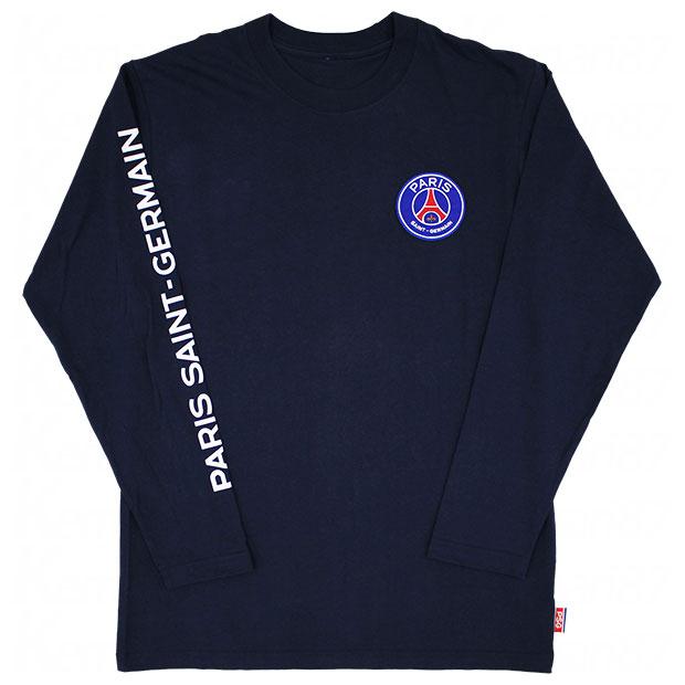 パリサンジェルマン 長袖Tシャツ  lu03-ps-1f02-nvy ネイビー