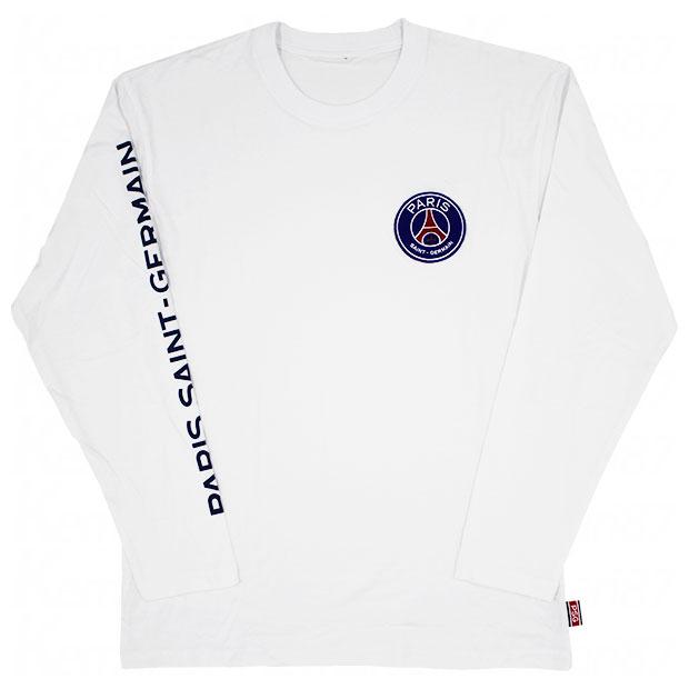 パリサンジェルマン 長袖Tシャツ  lu03-ps-1f02-wht ホワイト