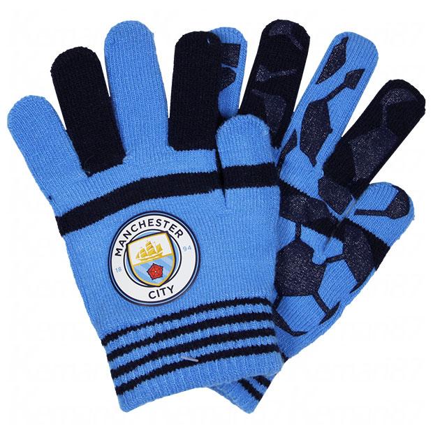 マンチェスターシティ のびのび手袋  mc34397